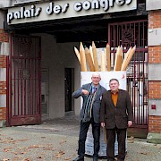 Mit Jacques de Decker in Cognac 2012